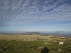 View towards Brown Clee Hill